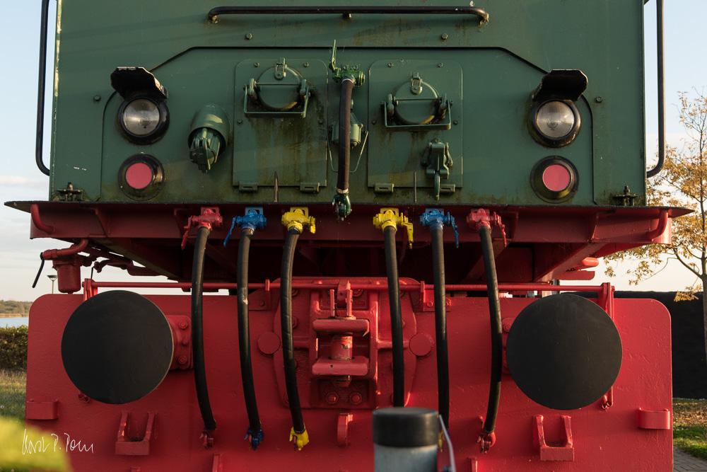 Grubenbahnlokomotive LEW EL 2