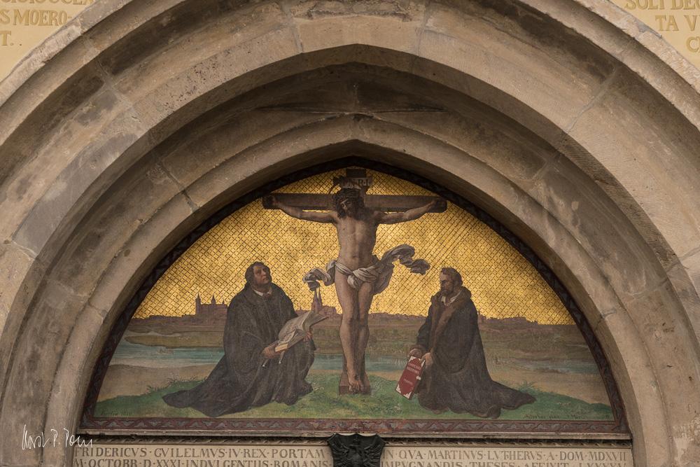 Portal der Schlosskirche zu Wittenberg