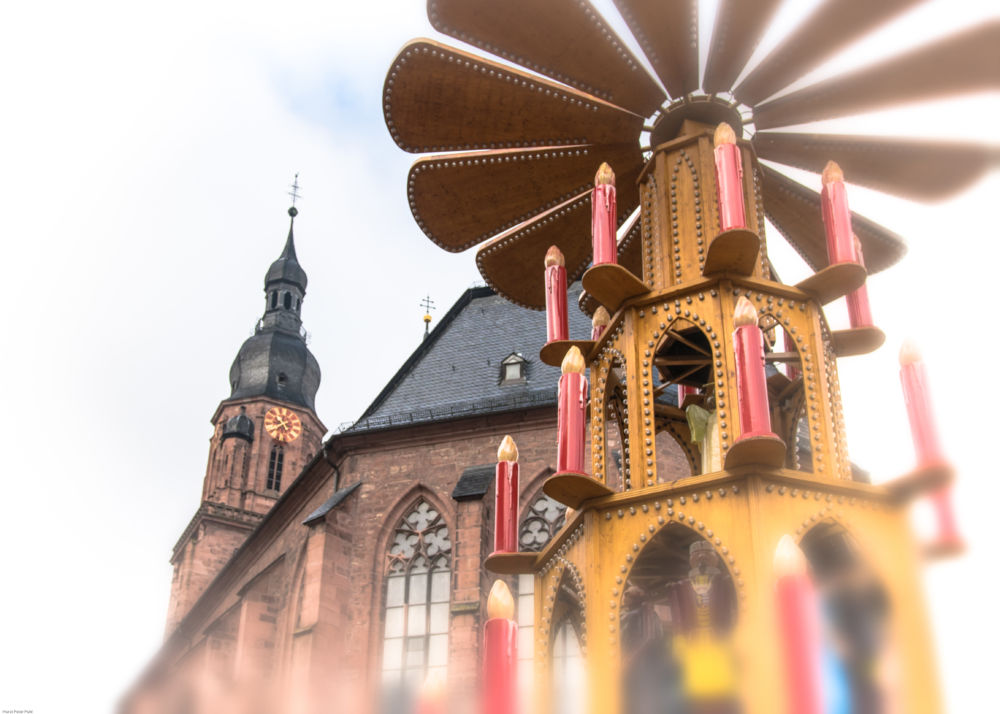 Vor der Heiliggeistkirche