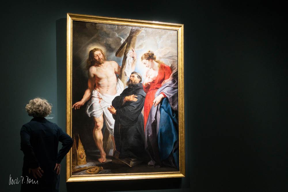 """""""Der Heilige Augustinus zwischen Christus und der Jungfrau"""""""