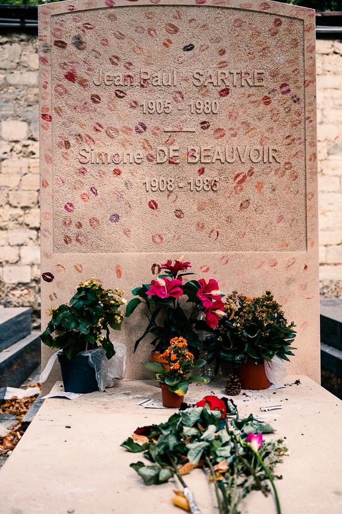 Grabstätte Beauvoir - Sartre
