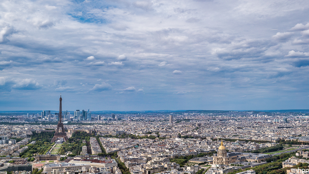 Panoramablick vom Tour Montparnasse