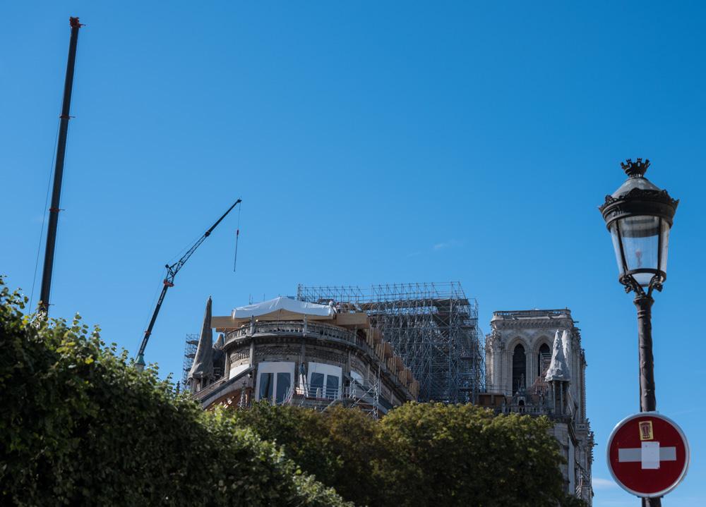 Notre Dame wird wieder aufgebaut