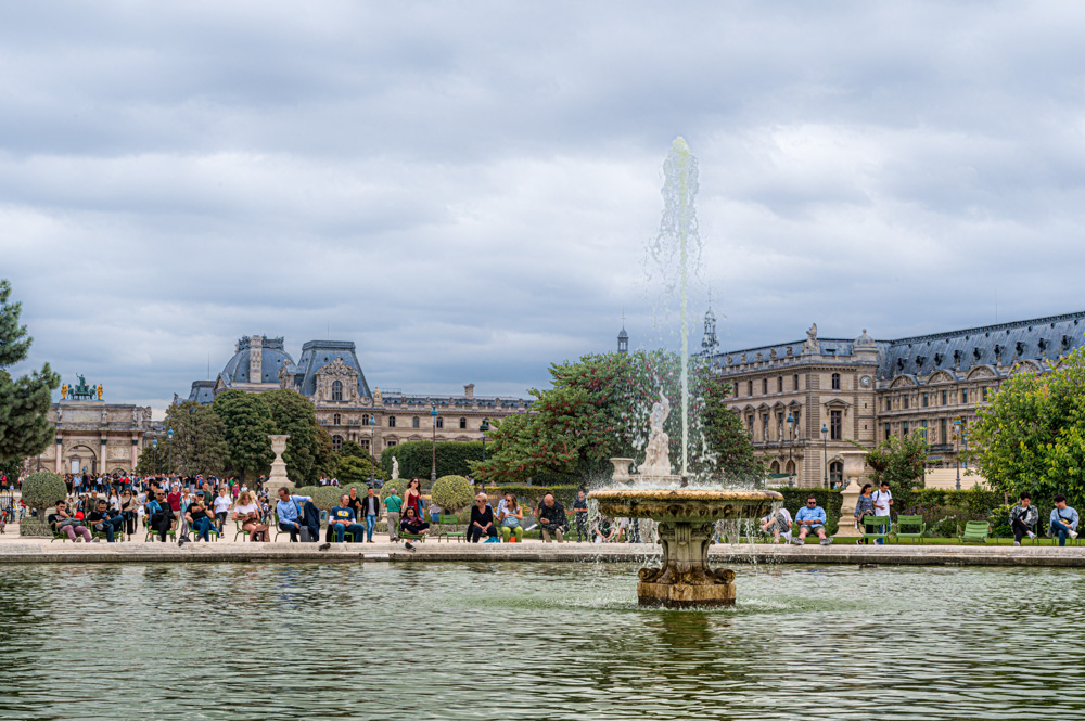 In den  Tuilerien