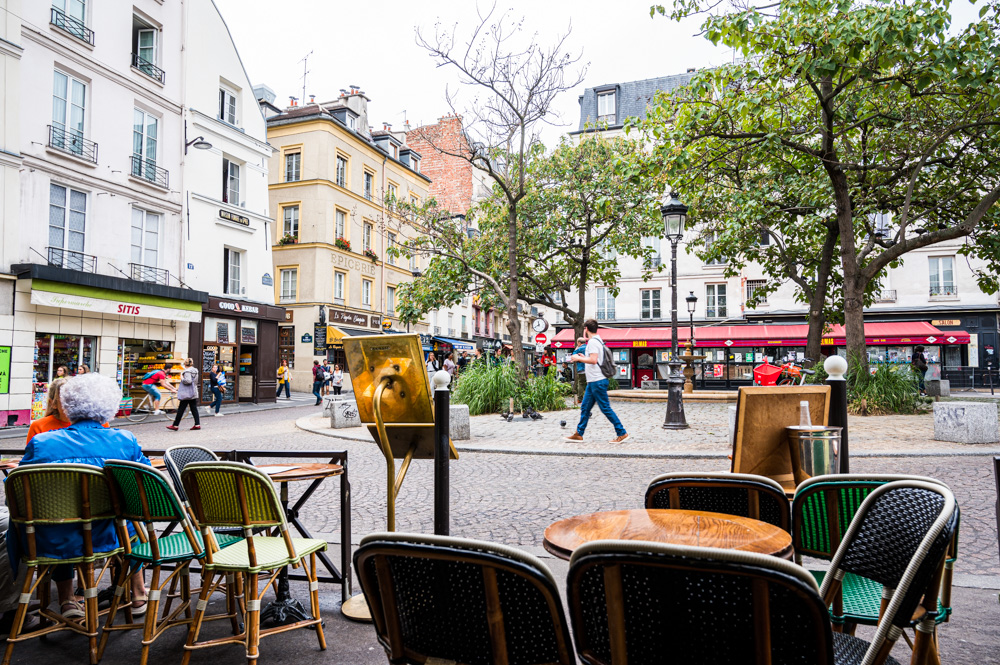 Cafè Delmas am Place de La Contrescarpe