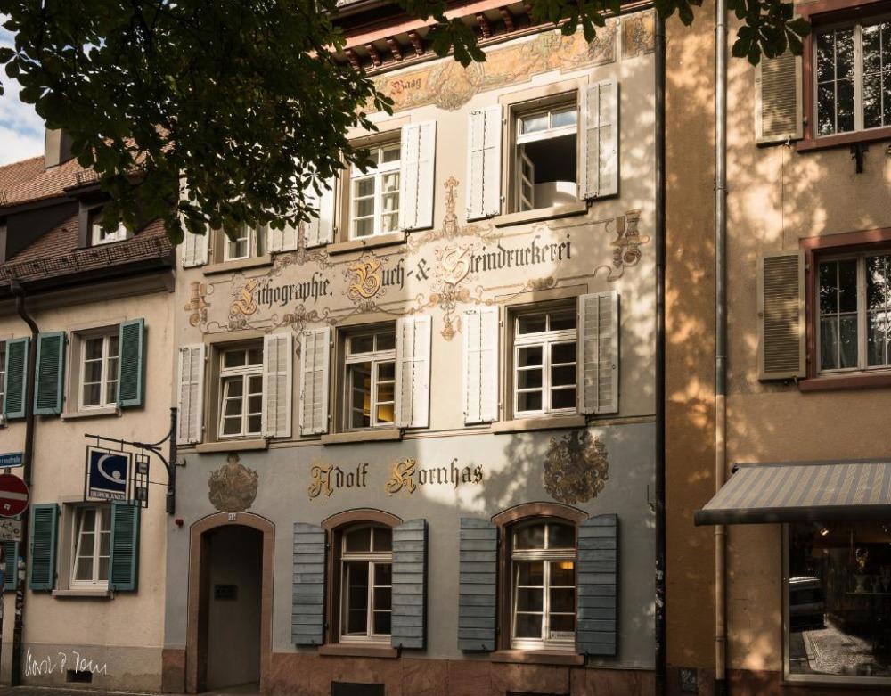 Haus zur Alten Waag, Herrenstraße (gegenüber Konviktstraße)