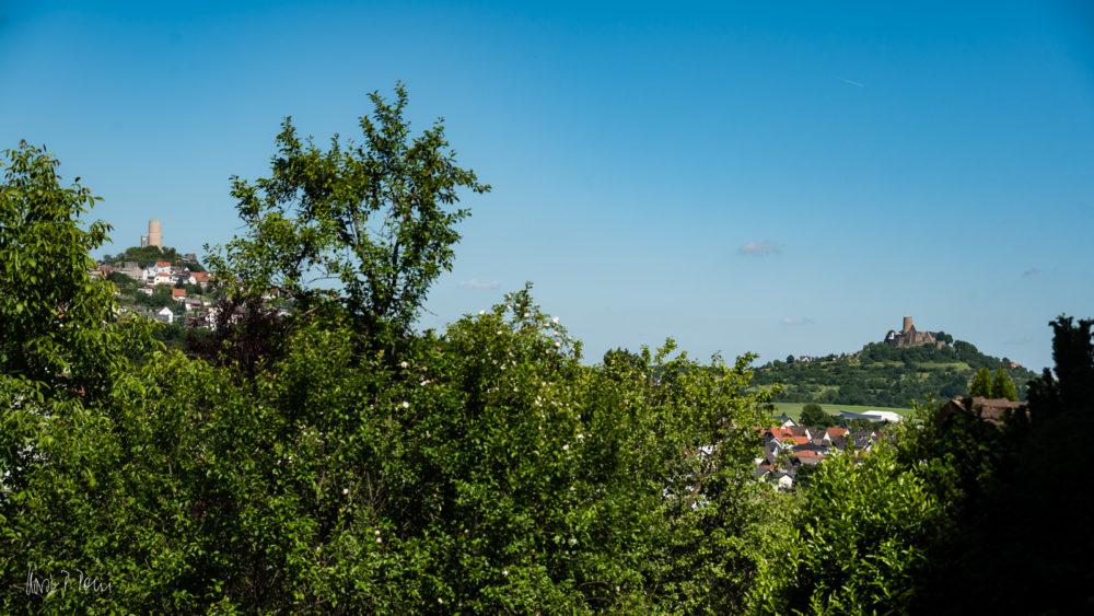 Die Burgen Vetzberg und Gleiberg