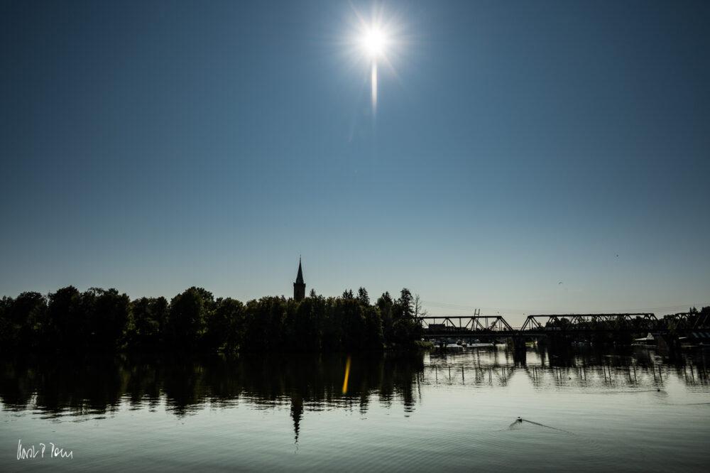 Sonne über Mikołajki