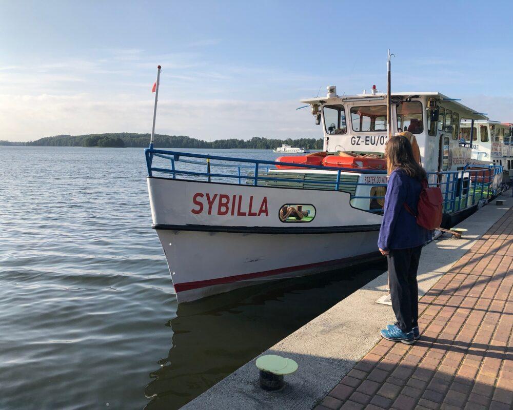 Sibyllinischer Blick auf den See