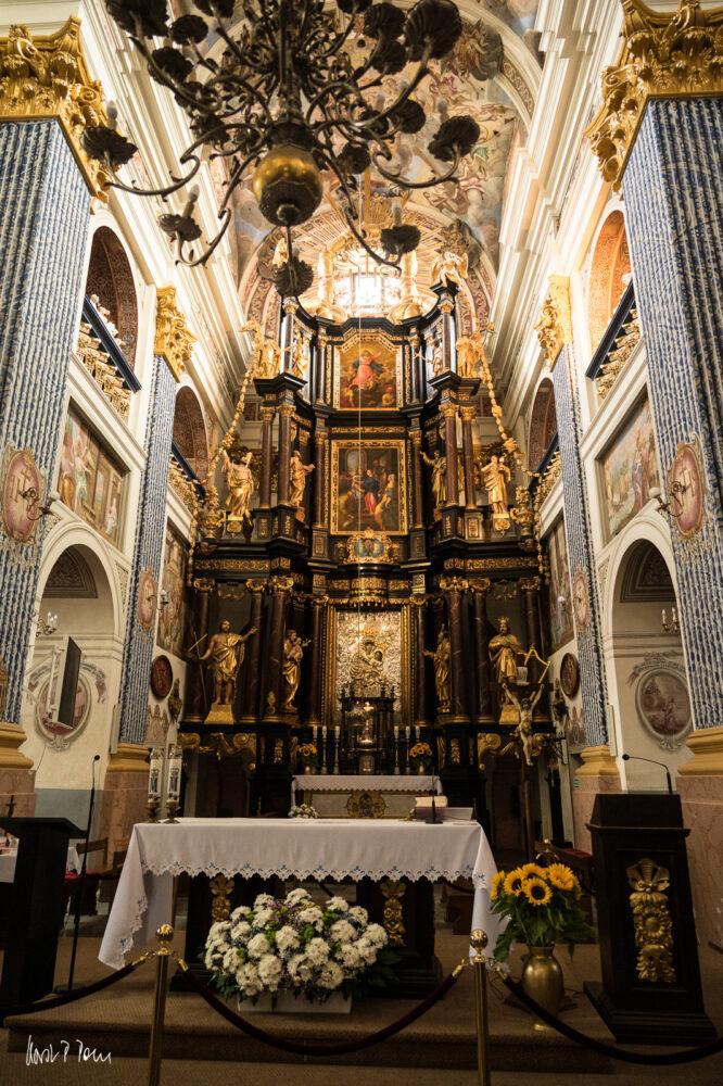Altarraum in Heiligelinde