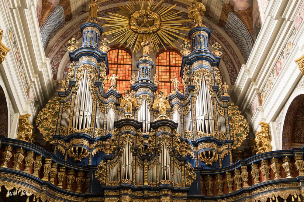 Orgel von Johann Josua Mosengel