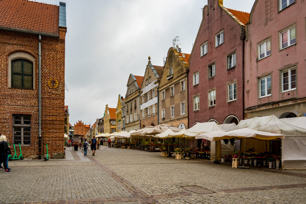 Die Bummelstraße der Stadt